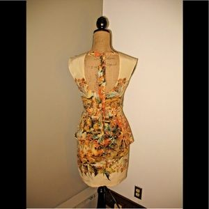ANTHROPOLOGIE DRESS TRACY REESE Backless Silk 0